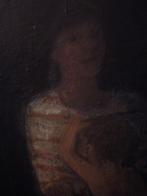 Detail: Maternity (oil on canvas 150x110cm) 1990