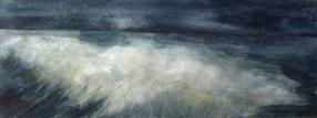Return 2 (watercolour on paper 2014) image size 55x20cm, plus frame £140