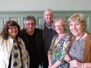 Poets & Players Competition 2015 - highly commended and winners with judge Paul Muldoon http://poetsandplayers.co/competition/poets-and-players-competition-2015/