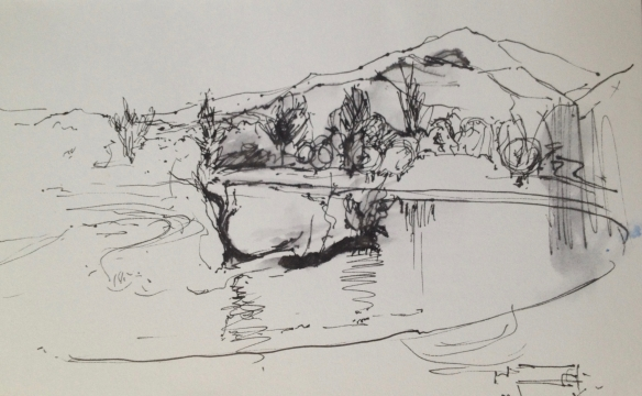 Callander 2015 (A6 pen on Paper)